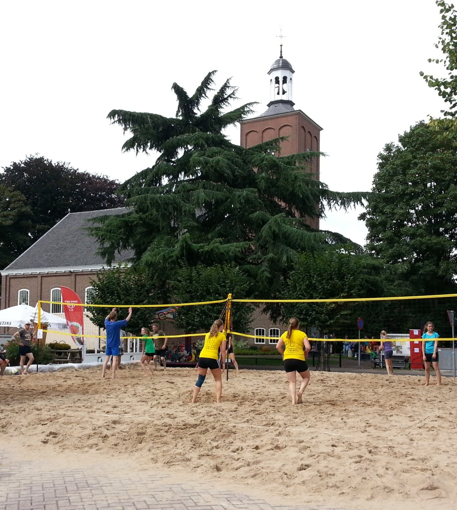Ook dit jaar vindt tijdens de Halse Dag weer het beachvolleybaltoernooi plaats.