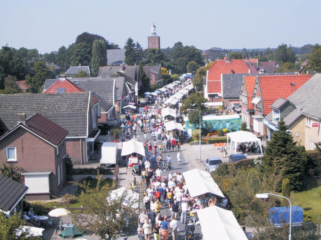 De streekmarkt tijdens de Halse Dag